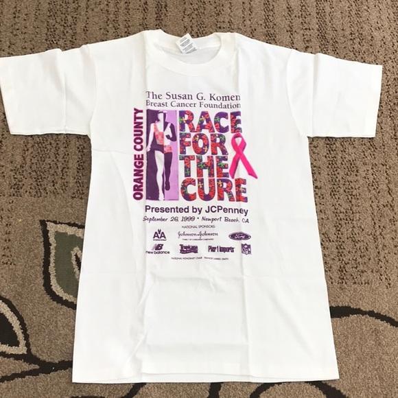 462c913e Tops | Nwot Susan G Komen Race For The Cure Tee Size S | Poshmark